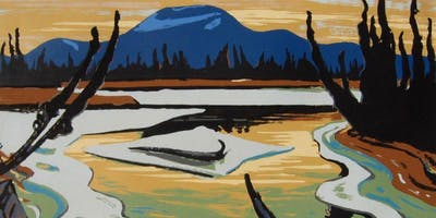 Smart River by A. Y. Jackson Paint & Sip Night - Art Painting, Drink & Food