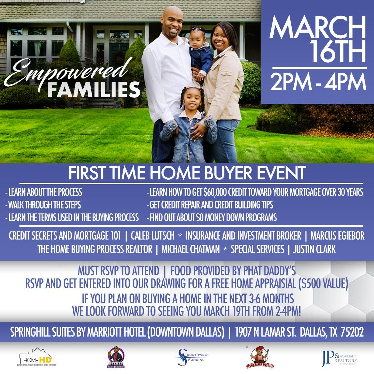 Dallas First Time Home Buyer Event Vol. 1