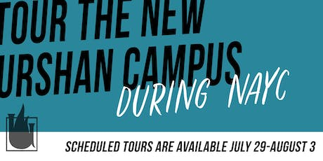 Urshan Campus Tours tickets