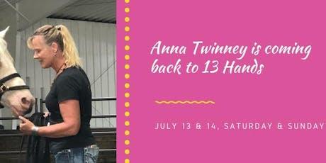 Anna Twinney Weekend Clinic tickets