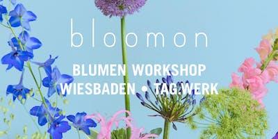 bloomon Workshop 31. März   Wiesbaden, TAG.WERK