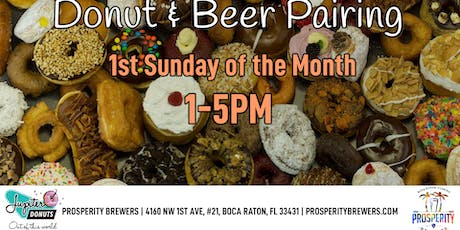 Donut & Beer Pairing tickets