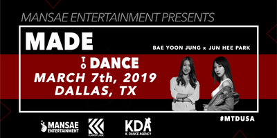 Made to Dance: North America Tour in Dallas