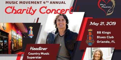 Music Movement 4th Annual Charity Concert ft. Joe Nichols