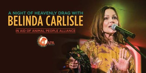 A Night of Heavenly Drag with Belinda Carlisle