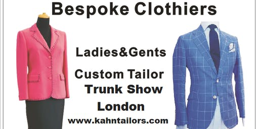 Bespoke Sartorial Trunk Show Mayfair London