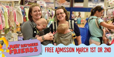 JBF Kids' Consignment Sale FREE Admission Mar. 1 & 2