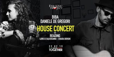 House Concert - Biba + D. De Gregori