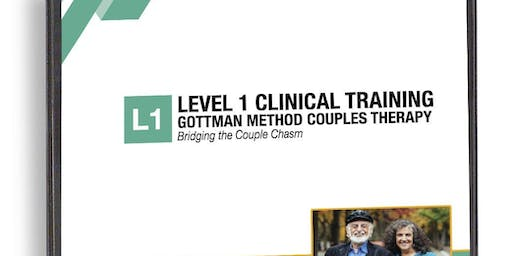 DENVER - Level 1: Bridging the Couple Chasm - Professional Training in Gottman Method Couples Therapy