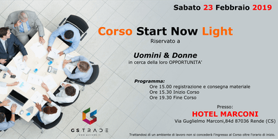 Corso Start Now Light