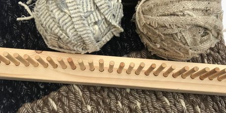 Peg Loom Weaving - Weave a Rug Workshop tickets