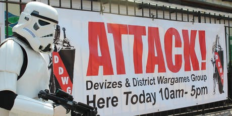 Attack! 2019 Wargames Show and Competitions tickets