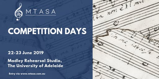 MTASA Competition Days