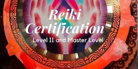 Reiki Master Certification tickets