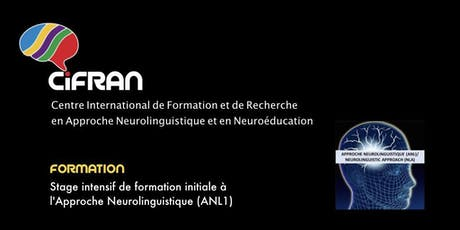 ANL1 - Montréal - Stage intensif de formation initiale à l'Approche Neurolinguistique billets