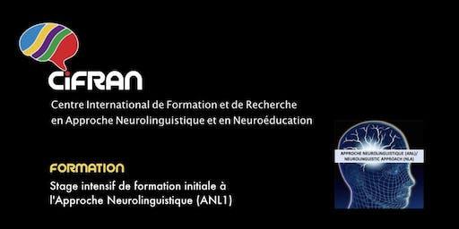 ANL1 - Montréal - Stage intensif de formation initiale à l'Approche Neurolinguistique