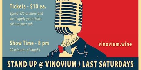 Stand Up @ Vinovium tickets