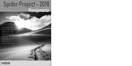 Livro: Spider Project 2018:Planejamento  (e-book) ingressos