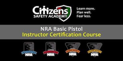 NRA Pistol Instructor Certification Course (Hixon, TN)