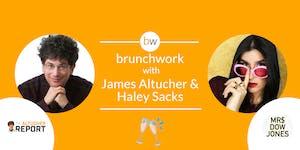 James Altucher and Mrs. Dow Jones brunchwork