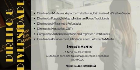 Workshop - Direito & Diversidade ingressos