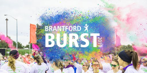 Brantford Burst Colour Run/ Walk 2019