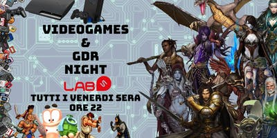 Videogames & Gdr Night
