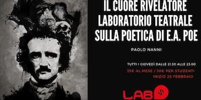 Corso - Laboratorio Teatrale sulla poetica di E.A.Poe