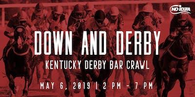 Down and Derby Kentucky Derby Bar Crawl