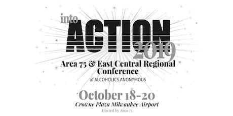 2019 Area 75 and ECR Conference tickets