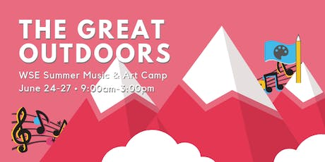 The Great Outdoors Music and Art Camp tickets
