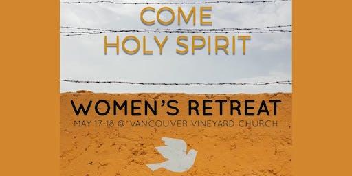 Washington Oregon Womens Retreat Come Holy Spirit