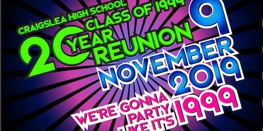 Craigslea Class of 1999 | 20 Year Reunion