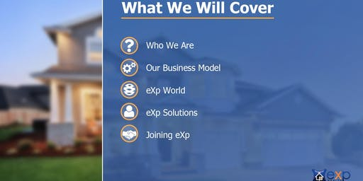 eXp Realty Executive Overview for Realtors!