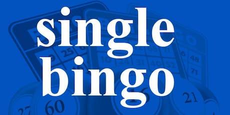 SINGLE BINGO AUGUST 13, 2019 tickets