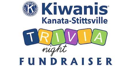 Trivia Night for Kiwanis Kanata-Stittsville Fall 2019 tickets