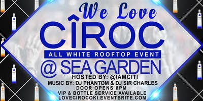 WE LOVE CIROC ALL WHITE ROOFTOP