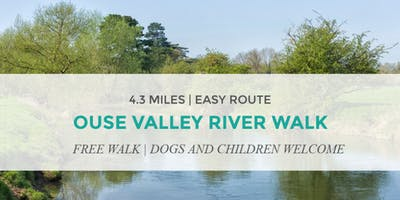 OUSE VALLEY RIVER WALK   4.2 MILES   EASY ROUTE   NORTHANTS WALK