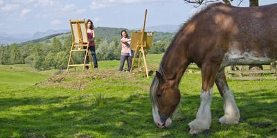 Art retreat weekend in the heart of the English Lake District.