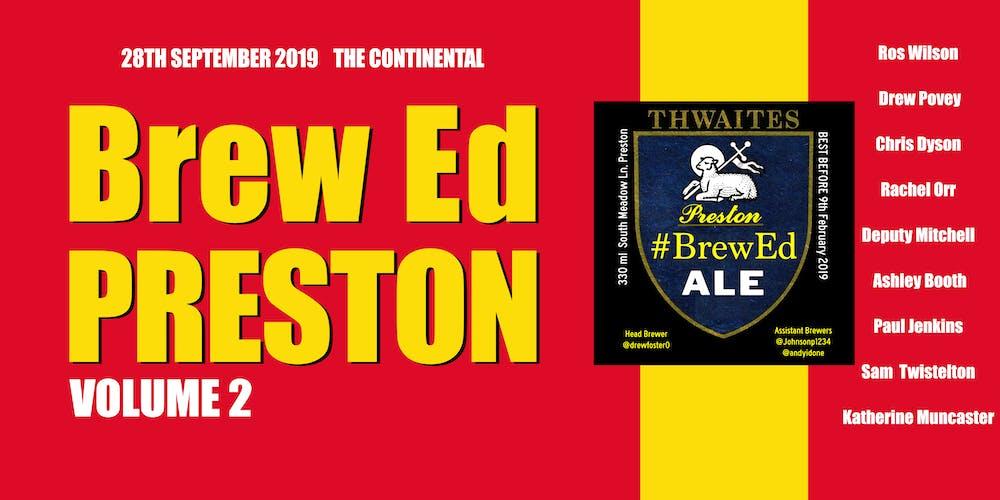 640791d89 #BrewEdPreston Volume 2 Tickets, Sat 28 Sep 2019 at 11:00 | Eventbrite