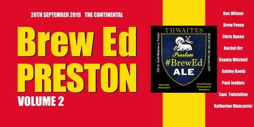 #BrewEdPreston Volume 2
