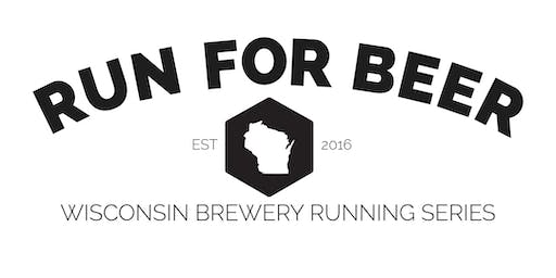 Beer Run - 3 Sheeps Brewing - Part of the 2019 WI Brewery Running Series