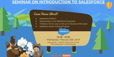 Seminar on Introduction to Salesforce