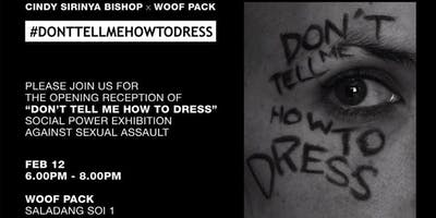 #DONTTELLMEHOWTODRESS x Woof Pack