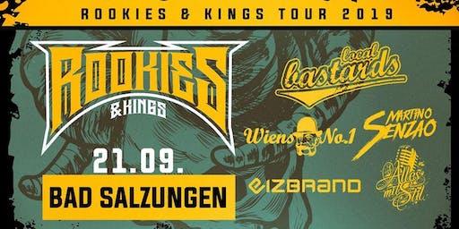 Rookies & Kings Tour: Local Bastards / Alles mit Stil / Wiens No. 1 / eizbrand / DJ Martino Senzao