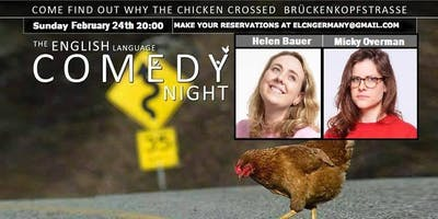The English Language Comedy Night, Heidelberg