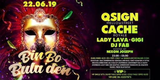 Bin Bo Bula'den  QSign - Cache - Lady Lava - Gigi - DJ Fab - MC Nixon