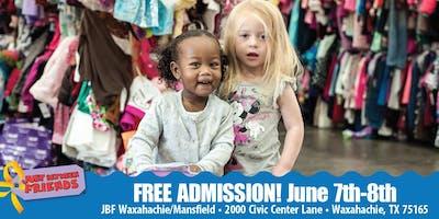 JBF Waxahachie/Mansfield: PUBLIC Spring/Summer SALE- FREE ADMISSION TICKET
