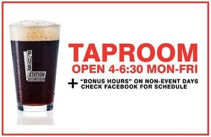 July 6th! Taproom OPEN for BONUS Hours! Private Rental in Ballroom.