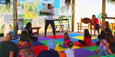 Yoga Para Pais e Filhos de 3 a 7 anos